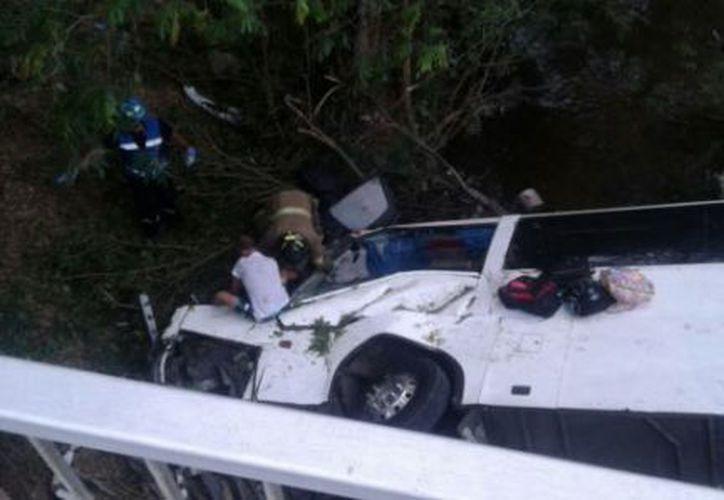 El accidente ocurrió en la provincoa Bocas del Toro, cerca de la frontera con Costa Rica. (Agencias)