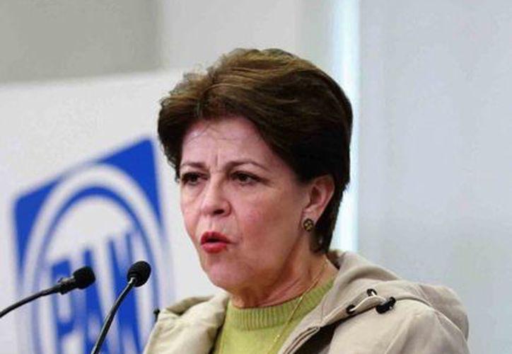 La dirigencia panista tomará acuerdos para completar la reforma en sus estatutos. En la imagen, Cecilia Romero, secretaria general del partido. (Notimex)
