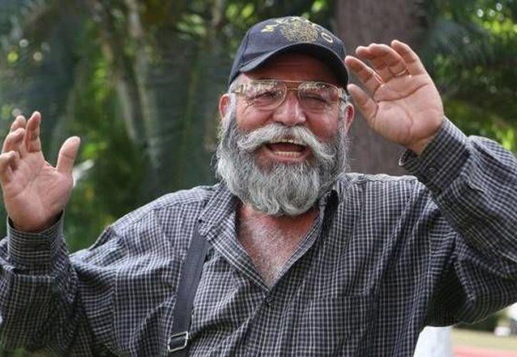 El dirigente de los grupos de autodefensa de Michoacán, Estanislao Beltrán. (infolatam.com)