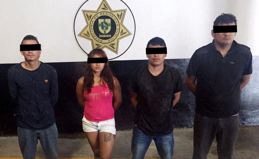 Estos presuntos homicidas son originarios de Veracruz y de Quintana Roo. (Milenio Novedades)