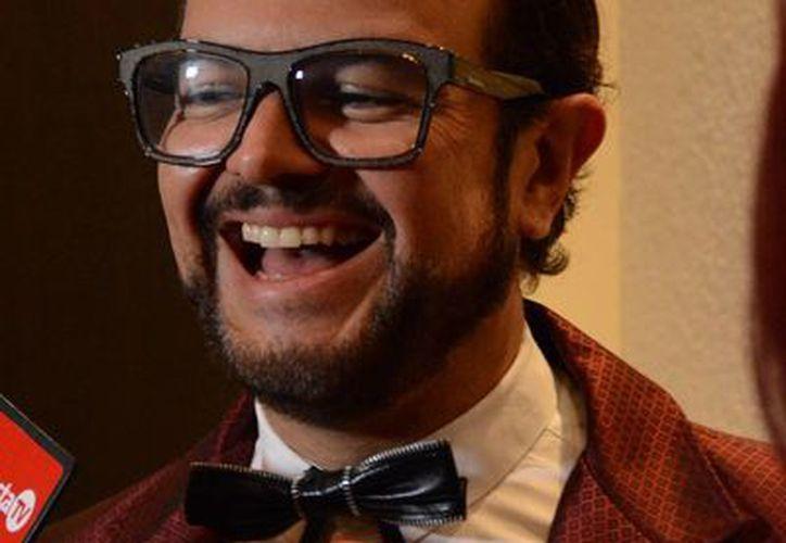 El cantautor Aleks Syntek ofrecerá en Cancún su concierto 'Romántico Desliz' el próximo 31 de octubre. (Victoria González/SIPSE)