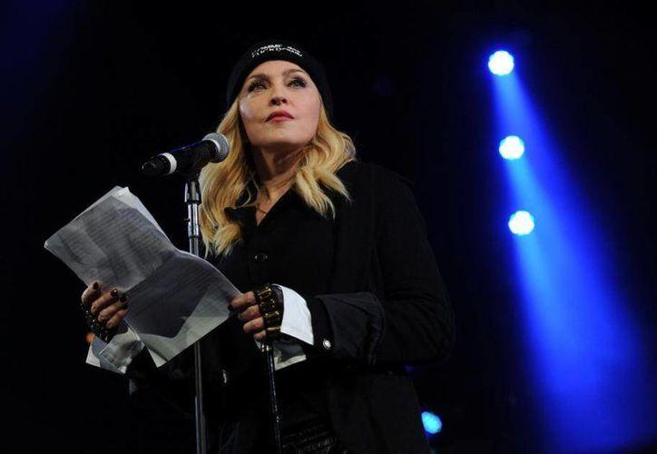 Madonna se encuentra en México para presentar su gira 'Rebel Heart Tour' este miércoles y jueves en el Palacio de los Deportes del Distrito Federal. (Archivo de AP)