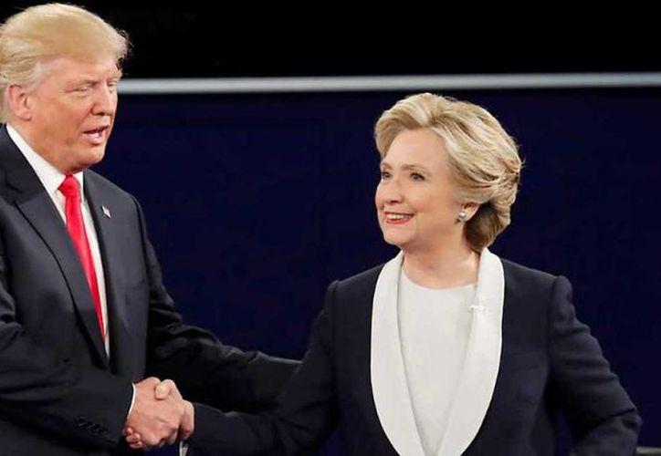 """Trump le pidió a Clinton que """"siga con su vida y lo intente en tres años"""". (Foto: Contexto/Internet)"""