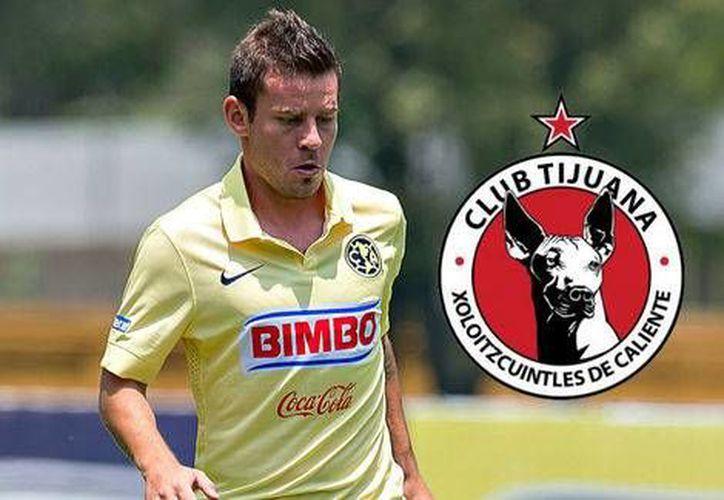 El argentino Gonzalo Díaz quien fue jugador del América en la etapa de Antonio Mohamed fue contratado como refuerzo para el Clausura 2016 por Xolos de Tijuana. (Milenio Digital)