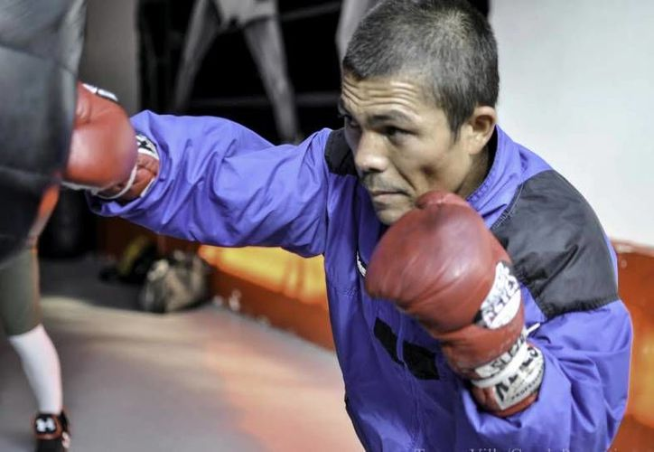 Oswaldo Novoa, Gallito, perdió por nocaut técnico en el noveno round en Tailandia en pelea por el título paja del CMB. (izquierdazo.com/Foto de archivo)