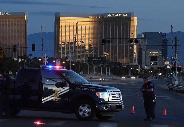 El FBI descartó hoy un vínculo entre en el atacante de Las Vegas y grupos terroristas extranjeros. (AFP).