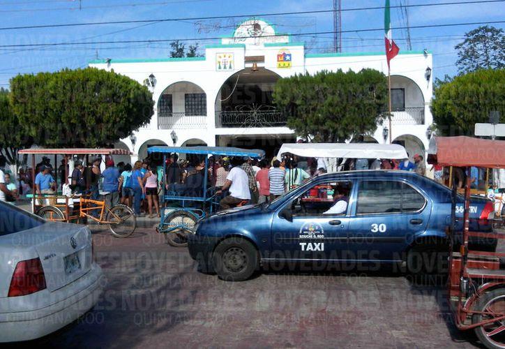 Morelos, es uno de los tres municipios de Q. Roo subsidiados en más de un 90% por los gobiernos del Estado y la Federación. (Joel Zamora/SIPSE)