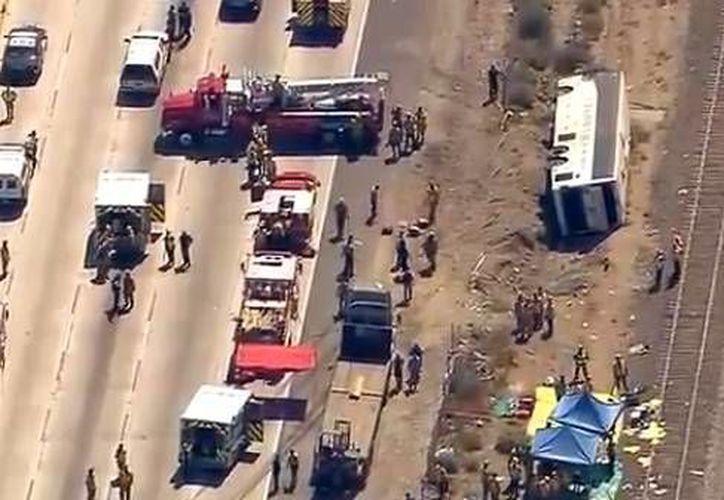Hasta el momento se desconocen las causas del accidente. (Agencias)