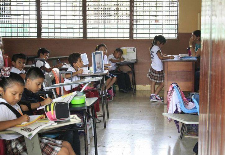 El Consejo Técnico Local para la Educación Básica tendrá la responsabilidad de garantizar la normalidad de operación en las aulas. (Harold Alcocer/SIPSE)
