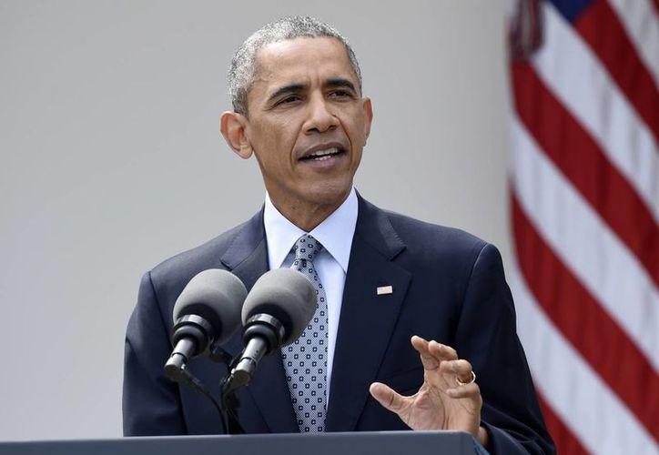 La Casa Blanca no ha tomado aun ninguna decisión, pero los asesores de Obama han comenzado a explorar la posibilidad de que pase varias horas en Hiroshima en mayo. (AP)