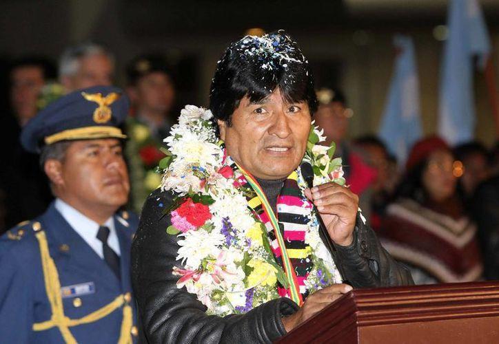 """Morales lamentó que en Europa """"todavía hay países que son más serviles a las políticas de Estados Unidos"""". (Archivo/EFE)"""