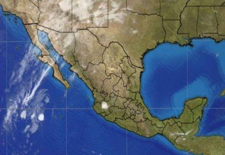 Se pronostican lluvias con intervalos de chubascos en Quintana Roo. (Conagua)