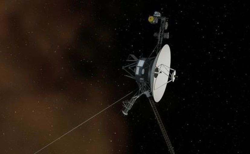 La sonda Voyager 1 se convirtió en la primera unidad  que fotografió en detalle los satélites de Júpiter y Saturno. (nasa.gov)