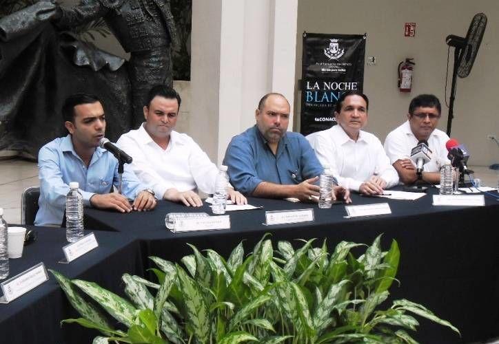 La Noche Blanca es un evento que ha gustado mucho a los meridanos. En la imagen, la conferencia de prensa donde se informó sobre el evento. (SIPSE)