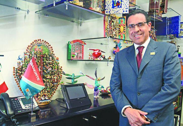 Alejandro Valenzuela, director general de Grupo Banorte. (Milenio)