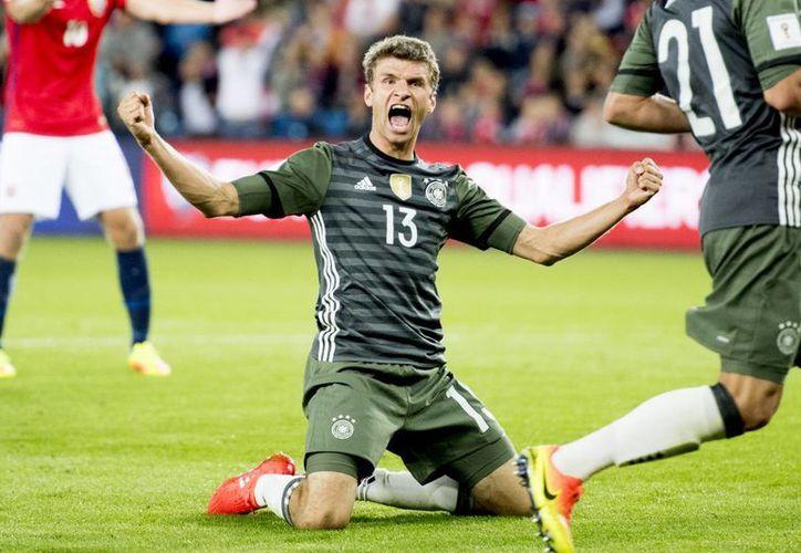 Alemania venció 3-0 a Noruega en su partido de la primera fecha de eliminatoria de la UEFA rumbo a la Copa del Mundo Rusia 2018. (Jon Olav Nesvold/NTB Scanpix via AP)