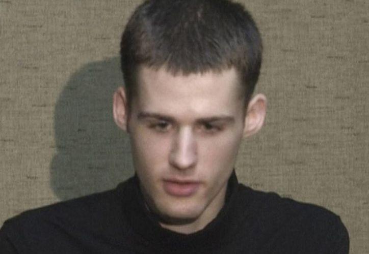 El estadounidense Mattew Miller cumplía una condena de seis años de prisión por presunto espionaje en Corea del Norte. (AP/Archivo)