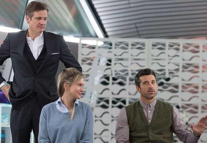 Colin Firth, Renée Zellweger y  Patrick Dempsey formarán un nuevo triángulo amoroso en 'Bridget Jones's Baby'. (Facebook: Bridget Jones)