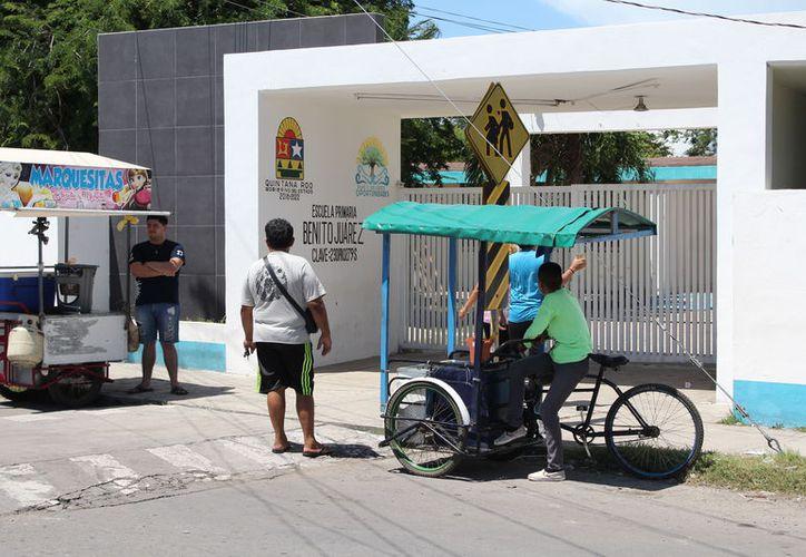 Ante la falta de recursos no entregaron alimentos en escuelas de tiempo completo. (Alejandra Carrión/SIPSE)