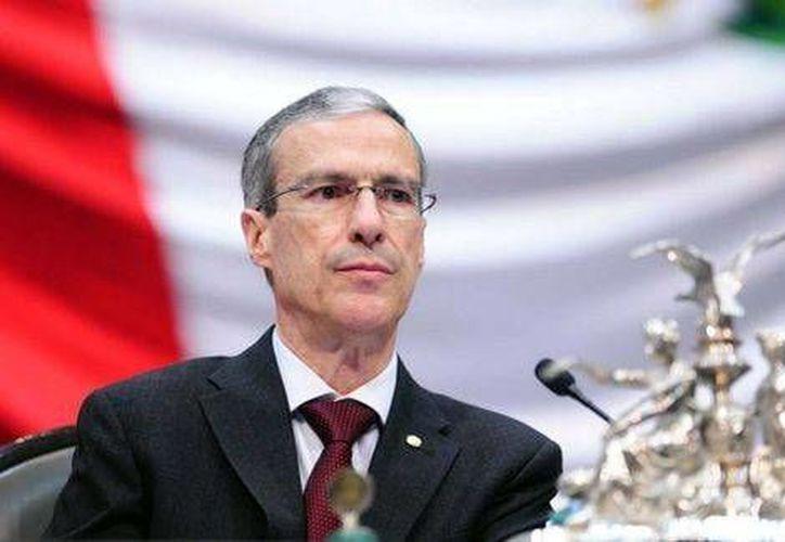 José González Morfín, presidente de la Mesa Directiva, dijo que es necesario acelerar los trabajos de la legislación antimonopólica. (Milenio)