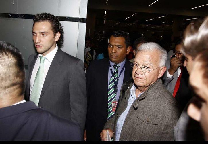 Andrés Granier dijo sentirse inseguro por presuntas amenazas del crimen organizado en contra de él y de su familia. (Notimex)