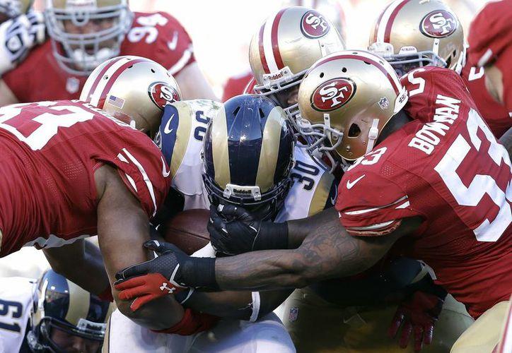 San Francisco que venció la semana pasada a los Rams, enfrentará al líder de la conferencia. (Foto: Agencias)