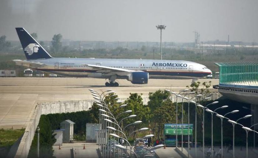 Aeroméxico, Interjet, Aeromar y Volaris transportaron de manera gratuita a 25 mil pasajeros desde el puerto de Acapulco hacia el DF. (Notimex/Foto de contexto)