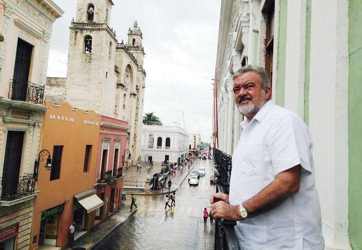 Eric Rubio Barthell anunció que este mes se reforzó la imagen turística de Yucatán en el mundo y en especial en Italia. (Milenio Novedades)