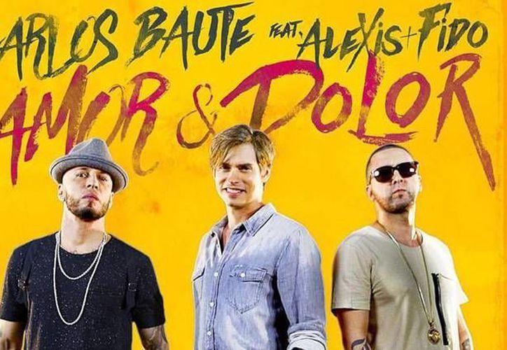 Carlos Baute junto con Alexis y Fido lanzaron este fin de semana 'Amor y dolor', un tema que logró  fusionar el pop con la música urbana. (Facebook/ Carlos Baute)