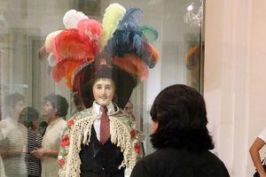 Exposición de máscaras, en el Museo Palacio Cantón