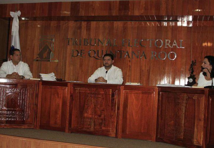 El Tribunal Electoral de Quintana Roo (Teqroo) sesionó ayer. (Ángel Castilla/SIPSE)