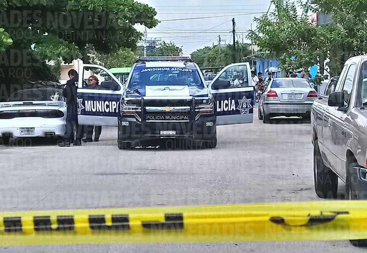 Los hechos ocurrieron cerca de la Ruta 4 y 5, a unos metros de la avenida 149 de Cancún. (Redacción)