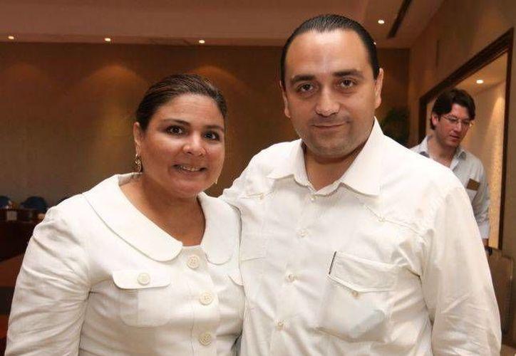 El gobernador Roberto Borge Angulo se ha reunido con Marisol Argueta, directora general foro para Latinoamérica. (Redacción/SIPSE)