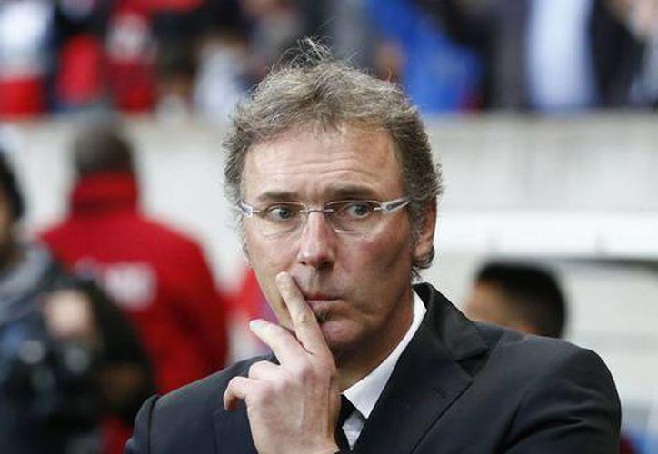 Laurent Blanc llevó al PSG a ganar su cuarto título de la liga francesa. (AP)