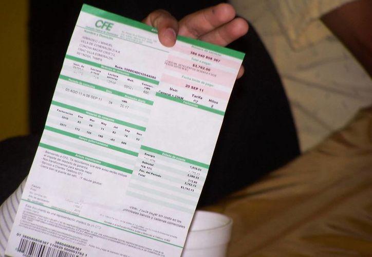 La CFE indica que la tarifa doméstica de bajo consumo no presentará aumentos. (Archivo/SIPSE)