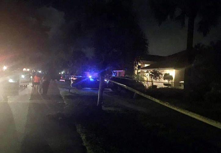 Imagen del lugar donde se realizó el doble asesinato y actos de canibalismo. (Martin County Sheriff's Office/Facebook)