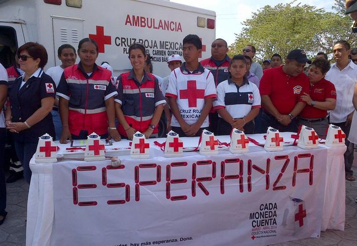 La Cruz Roja de Playa del Carmen advirtió que no tiene centros de acopio para enviar ayuda a Ecuador. (Daniel Pacheco/SIPSE)