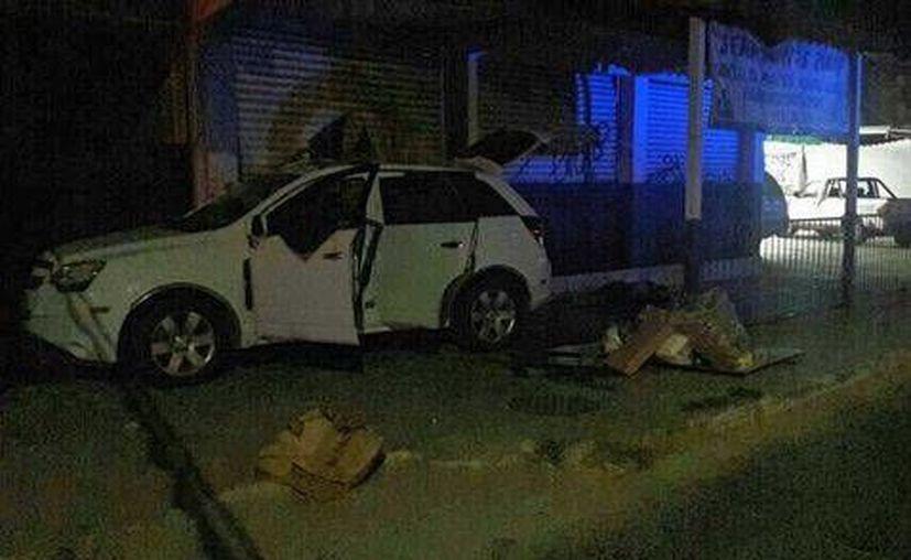 La balacera ocurrió aproximadamente a las 23:36 horas de ayer sobre las avenidas Heroico Colegio Militar y El Palmar. (Javier Trujillo/Milenio)