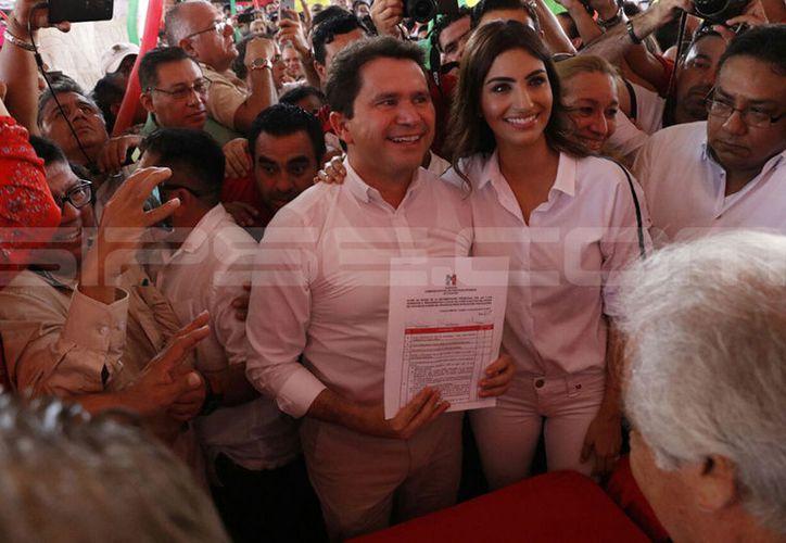 Mauricio Sahuí Rivero ya es precandidato. (José Acosta/SIPSE)