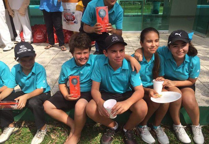 El equipo de Yucatán tuvo destacada actuación en este certamen de golf. (Milenio Novedades)