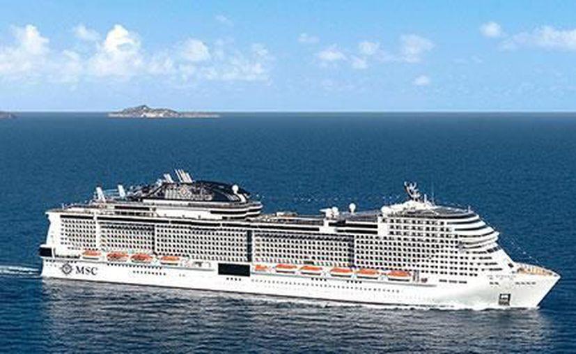La embarcación Meraviglia de la empresa MSC se dirige a Cozumel como parte de su ruta programada con anterioridad. (Foto: MSC).