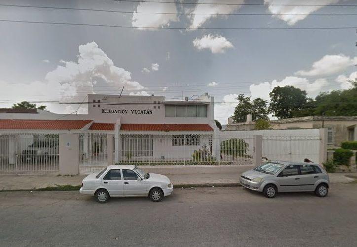 La delegación de la Conafe en Yucatán. (Google Maps)