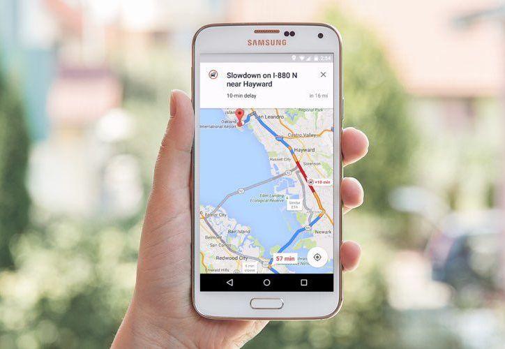 Ahora Maps te dice a qué hora habrá menos tráfico y atascos. (Contexto/Internet).