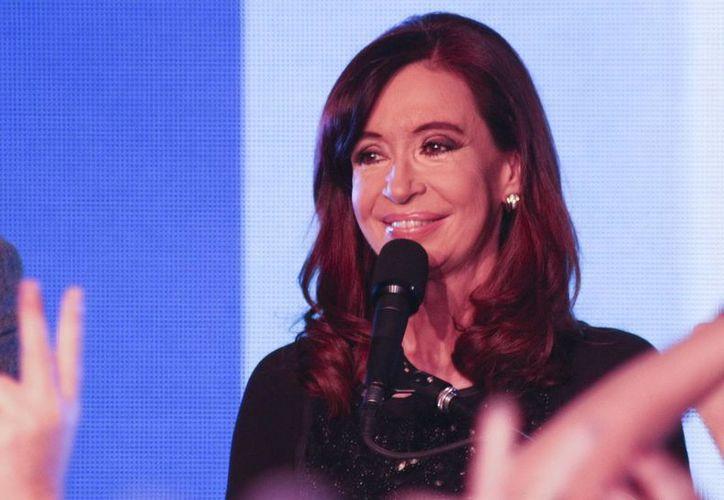 """Cristina Fernández añadió que ella y su esposo siempre supieron que solo eran """"instrumentos de la historia"""". (Archivo/EFE)"""