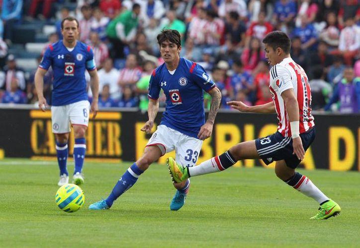 Cruz Azul viene de perder el invicto en casa ente Chivas 2-1. (Foto: Notimex)