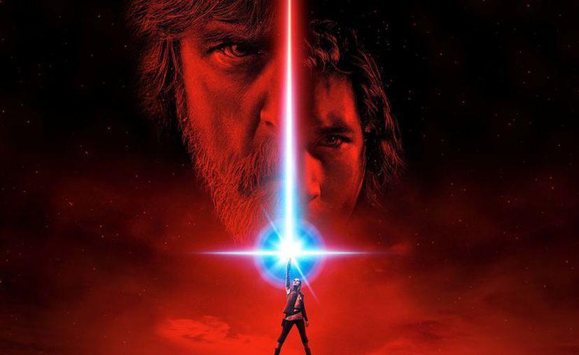 En la nueva imagen, los héroes de la historia aparecen juntos liderados por Rey (Daisy Ridley) y Luke Skywalker (Mark Hamill). (Lucasfilms)