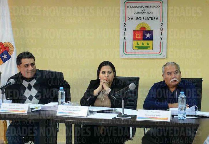 Los integrantes del Congreso Local realizaron las entrevistas. (Joel Zamora/SIPSE)