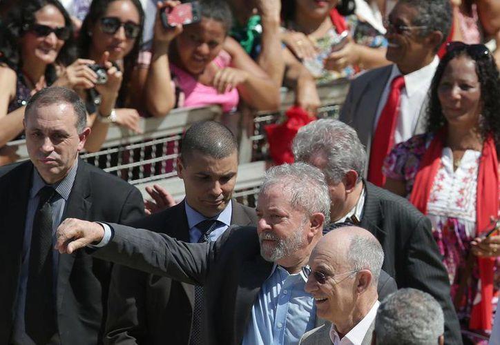 El expresidente brasileño Luiz Inácio Lula da Silva declaró que se arrepiente de los casos de corrupción en su país. (AP/archivo)