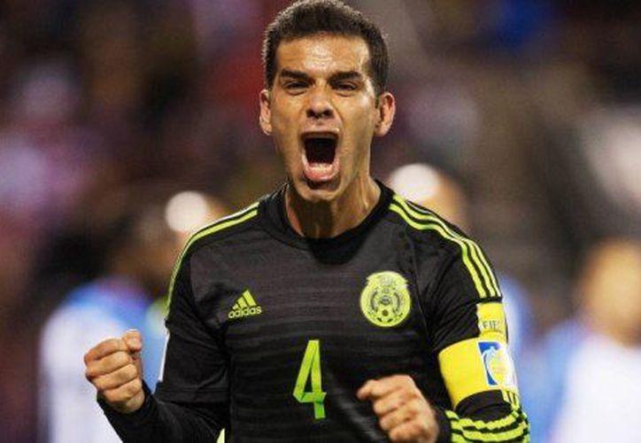 El capitan del 'Tri'  Rafa Márquez de regreso a la cancha. (Foto: huffingtonpost )