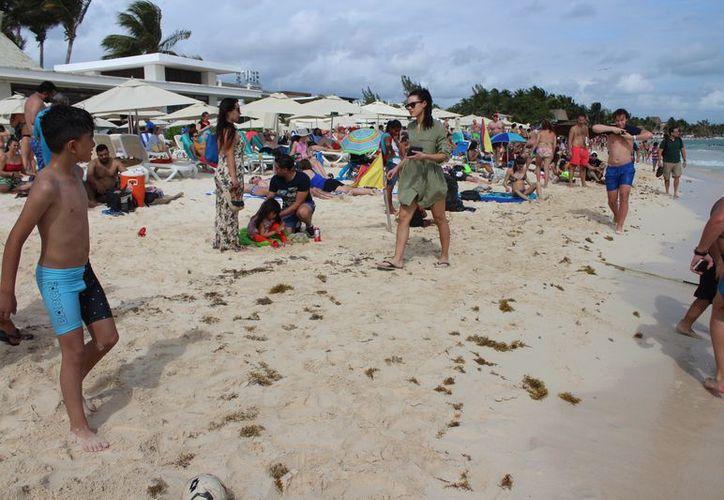 Durante la temporada vacacional se salvaguardó la integridad de los miles de turistas que visitaron este destino. (Adrián Barreto/SIPSE)